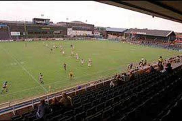 Warrington Wolves new Halliwell Jones stadium