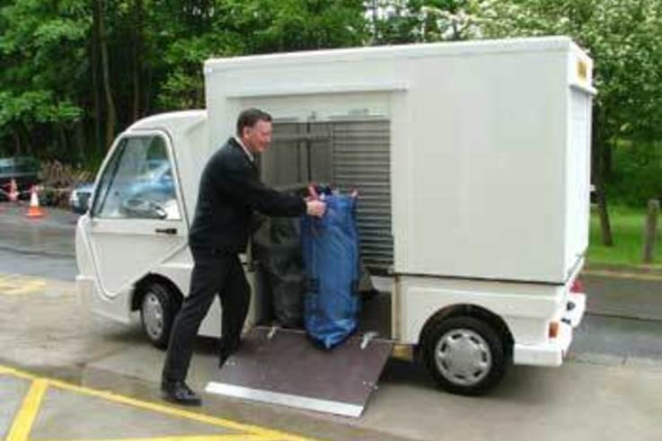 Bespoke electric vehicle for mail deliveries on University Campus
