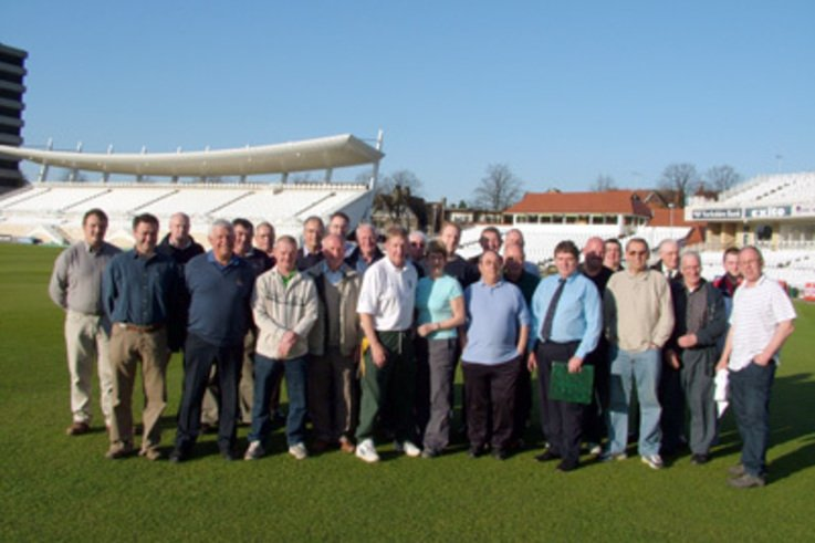 Nottingham Cricket Groundsman Association AGM