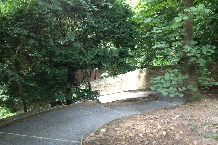 Wheelchair access at Williamson Park (4)