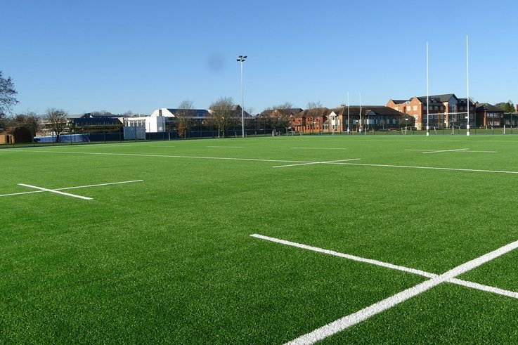 Warwick School New 3G Rugby Pitch By SIS Pitches 2