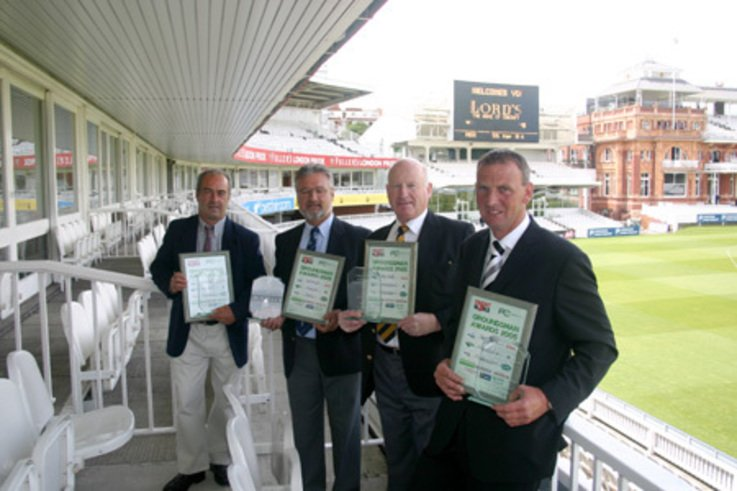 Cricket Groundsmen honoured at Lord's - 2004 Winners