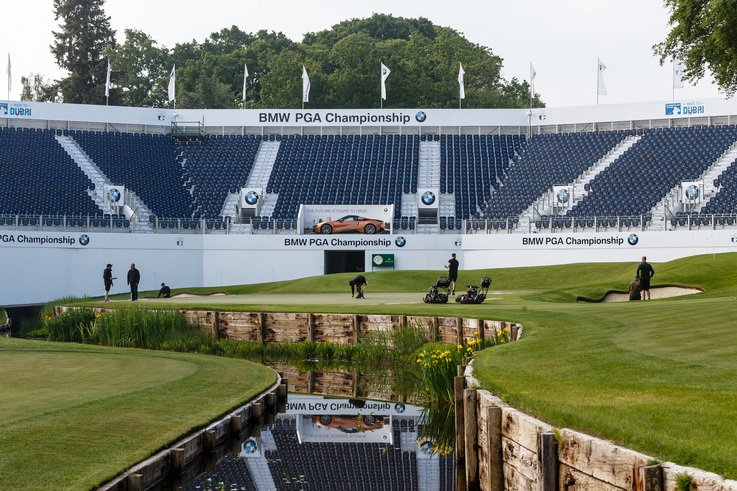 Final Preparations Are Underway For The BMW PGA Championship 2