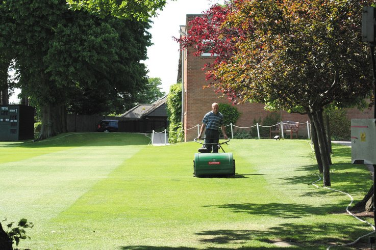 April Sports Pitch Maintenance Diaries