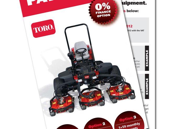 Lely Toro finance leaflet
