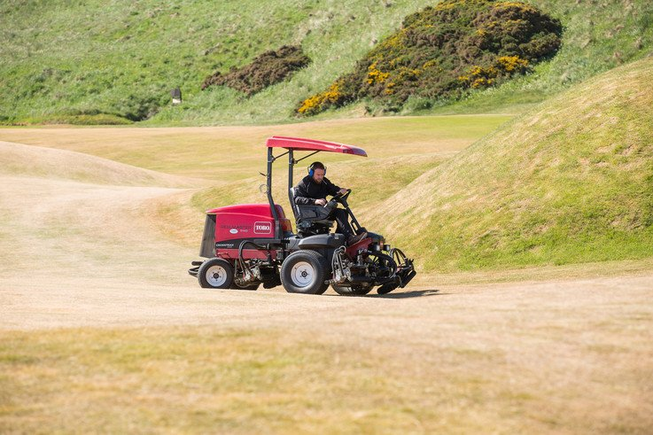 Cruden Bay Fairways In All Their Tan Glory