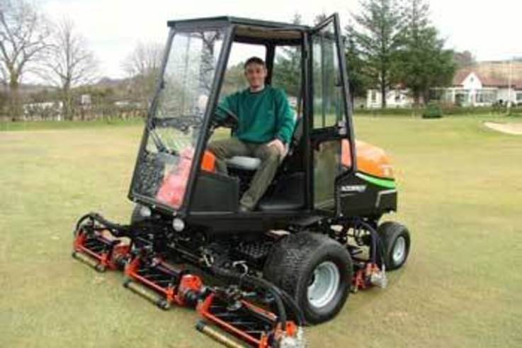 Caldwell Golf Club upgrade turf maintenance equipment