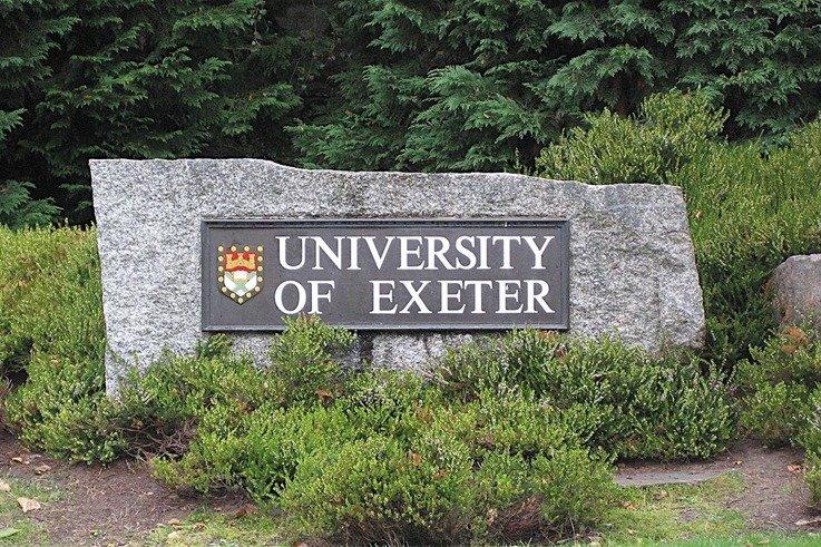ExeterUni Sign