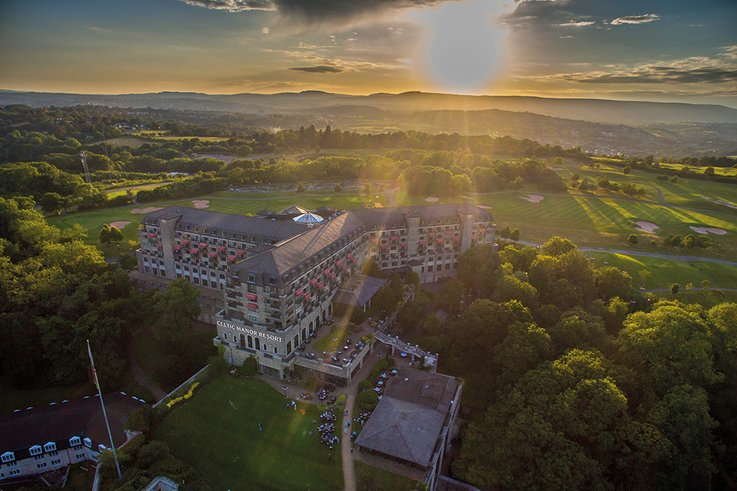 Celtic-Manor Aerial