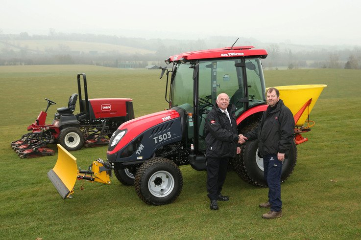 2 New TYM T503 with school's existing Toro Groundsmaster 4500 D   Stewar...