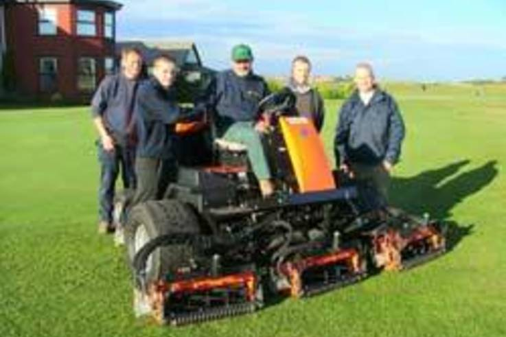 New Ransomes fairway mower enhances playing conditions