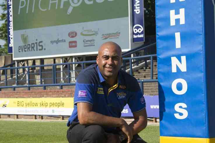 Jason Booth   Head Groundsman, Leeds Rhinos and Leeds Carnegie LOW RES