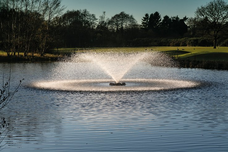 Otterbine Fountain