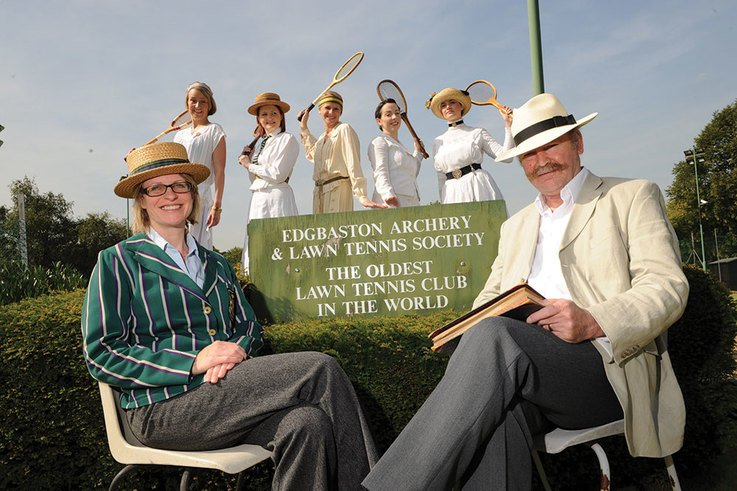 A history of lawn tennis