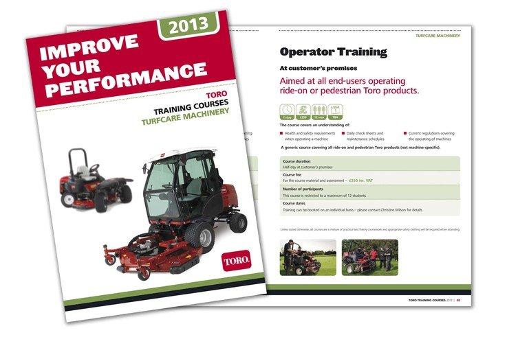 PR4087 Toro training guide