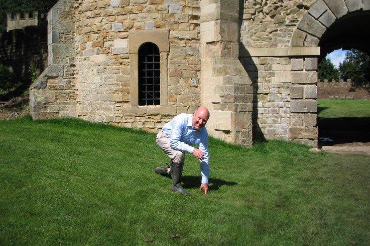 Modern turf technology aids historic gardens