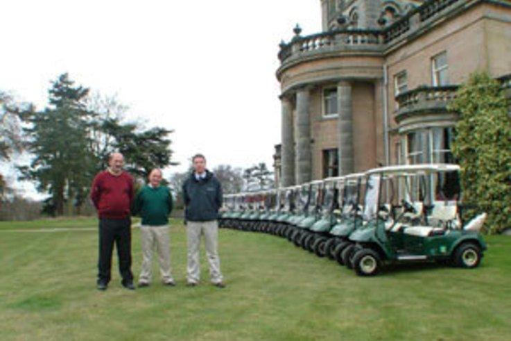 E-Z-Go Golf Car Fleet for Letham Grange