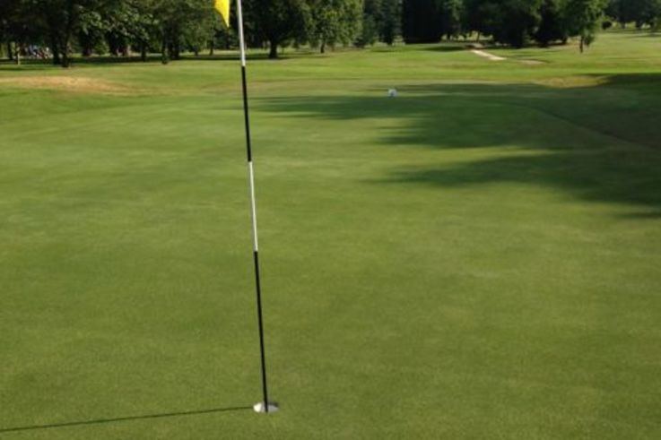 Improved putting surface at Coventry