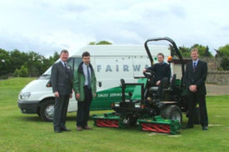 Midlothian Council take delivery of new triple mowers