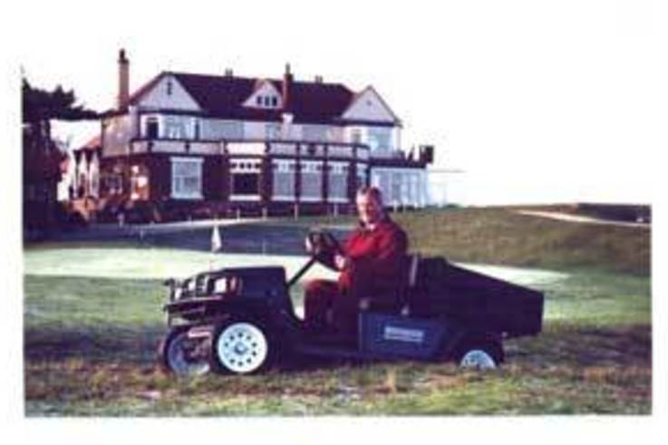 Hunstanton Golf Club go puncture proof.