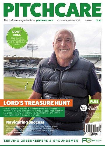 October / November 2018 cover