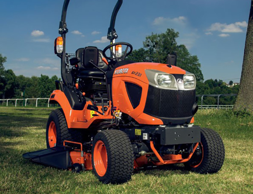 kubota uk launches bx231 sub compact tractor pitchcare. Black Bedroom Furniture Sets. Home Design Ideas