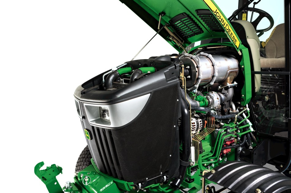 4066R compact tractor DPF engine