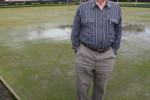 Rawhiti Bowling Club president Eric Rawson
