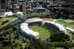 Adelaide Oval and Torrens riverbank redevelopment.