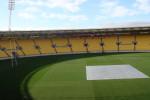 Westpac Stadium in Windy Wellington