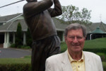 Peter Thomson Statue at Victoria Golf Club