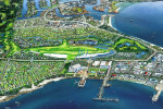 An artist's impression of Port Lincoln identity Dean Lukin's proposed 18-hole international golf course development for the Eyre Peninsula city.