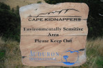Cape Kidnappers Course Sign
