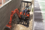 Kubota U17-3 excavator