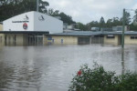 Flooding at the AFL Headquaters in Brisbane