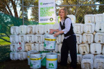 City of Whittlesea Resource Recovery Officer Jocelyn Harte at the Epping compound.