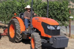 Kubota now offers the M8540 Narrow tractor in a Rops version