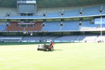 The Toro procore in action inside Etihad Stadium
