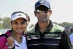Sania Mirza, and her husband, Pakastani cricketer Shoaib Malik