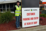 : Lindsay Rural's Administration officer Leeona McCulloch at the Shepparton store.
