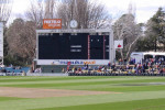 The Old MCG scoreboard now at Manuka Oval