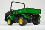 John Deere ProGator with additional hauling capability and improved ease-of-use.