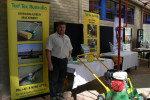 Glen Shaw at the recent STA show in Ryde