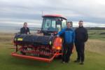 Gordon, Innes and Gareth at Kingsbarns Golf Links