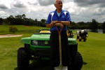 Campbelltown Golf Club's new head greenkeeper Tony Brown