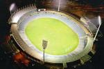 An artist's impresssion of the AAMI Stadium lighting upgrade