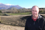 Arrowtown Golf Club's new manager John Stephens is out to prove he is better than second best. Photo by Felicity Wolfe.