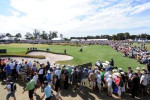 Huge crowds turned out at Kingston Heath to watch Tiger Woods in the 2009 Australian Masters. Picture: Ian Baker  Source: HWT Image Library