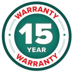 2 Year Warranty Badge for Darwin Square Planter