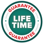Lifetime Warranty Badge for Bulldog Evergreen Dutch Hoe